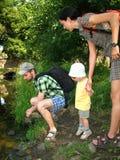 Junge Familie Lizenzfreie Stockfotografie
