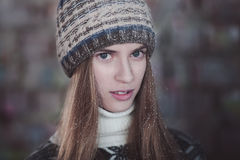 Junge Frau Lizenzfreies Stockfoto