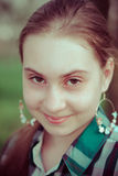 Junge Frau 15 Stockbild