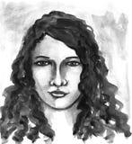Junge Frau 15 Lizenzfreie Abbildung