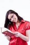 Junge Frau in den Gläsern Lizenzfreie Stockbilder