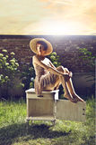 Junge Frau der Mode Lizenzfreie Stockfotos