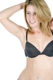 Junge Frau in der Unterwäsche Lizenzfreies Stockfoto