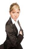 Junge Frau des Portraits Lizenzfreie Stockfotos