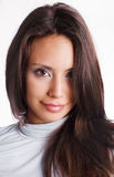 Junge Frau des schönen Latino Lizenzfreie Stockbilder