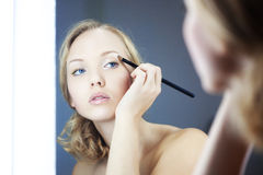 Make-up Stockbild