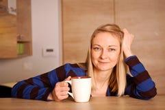 Glückliche Teezeit Stockfotografie