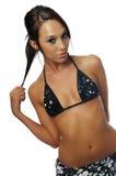 Junge Frau in einem Bikini Stockfotografie