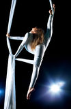 Junge Frau Gymnast Lizenzfreie Stockbilder
