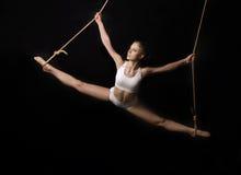 Junge Frau Gymnast. Lizenzfreies Stockbild