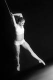 Junge Frau Gymnast Lizenzfreie Stockfotografie