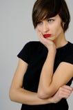 Junge Frau mit den zahnmedizinischen Schmerz Lizenzfreies Stockbild
