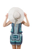 Junge Frau in Mode Lizenzfreie Stockfotos