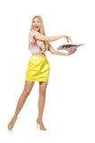 Junge Frau in Mode Stockfotos