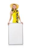 Junge Frau in Mode Lizenzfreie Stockbilder