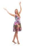 Junge Frau in Mode Lizenzfreies Stockbild