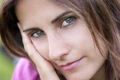 Junge Frau Portrait Lizenzfreies Stockbild