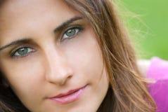 Junge Frau Portrait Lizenzfreie Stockfotografie