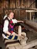 Junge Frau von Rumänien Stockfotos