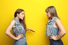 Junge Frau zwei lizenzfreies stockfoto