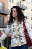 Junge Frauen-Einkaufen Lizenzfreies Stockbild