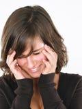Junge Frauen-Lachen Stockfotos