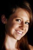 Junge Frauen-Nahaufnahme Lizenzfreie Stockfotos
