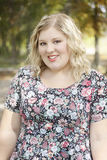 Junge Frauen-Porträt Lizenzfreie Stockbilder