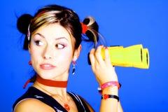 Junge Frauen-Portrait Stockbilder