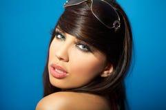 Junge Frauen-Portrait Stockfotografie