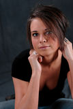 Junge Frauen-reizvoller Blick Lizenzfreies Stockbild