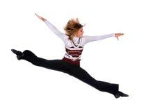 Junge Frauen-Springen lizenzfreie stockfotografie