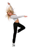 Junge Frauen-Tanzen Lizenzfreie Stockbilder