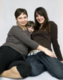 Junge Frauen und Mädchen Stockfoto