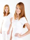 Junge frische Frauen Lizenzfreies Stockbild