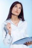 Junge Geschäftsfrau Lizenzfreies Stockbild