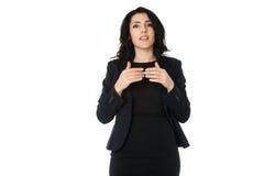 Junge Geschäftsfrau Stockfotografie