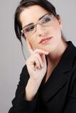 Junge Geschäftsfrau Lizenzfreie Stockbilder