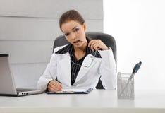 Junge Geschäftsfraufunktion Stockbilder