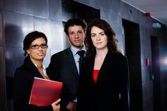 Junge Geschäftsleute Stockfoto