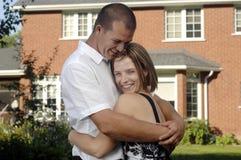 Junge glückliche Paare Lizenzfreie Stockbilder