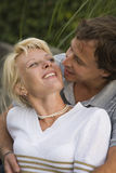 Junge glückliche Paare Stockfoto