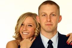Junge glückliche Paare Lizenzfreies Stockbild