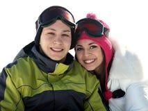 Junge glückliche Paare stockfotos
