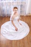 Junge glückliche Braut Lizenzfreies Stockfoto