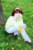 Junge hübsche Frau. lizenzfreie stockfotos