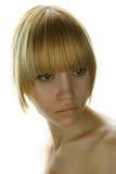 Junge hübsche Frau Stockfotografie