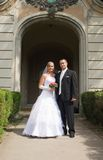 Junge Hochzeitspaare stockfoto