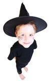 Junge im Halloween-Kostüm Stockbild