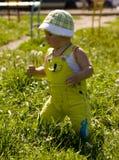 Junge im Park Lizenzfreie Stockbilder